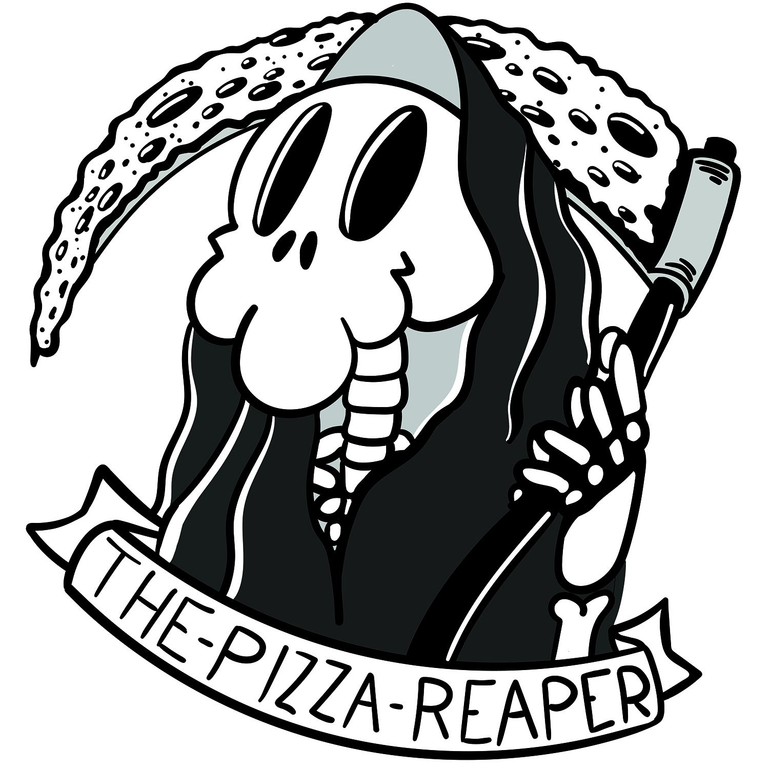 the pizza grim reaper