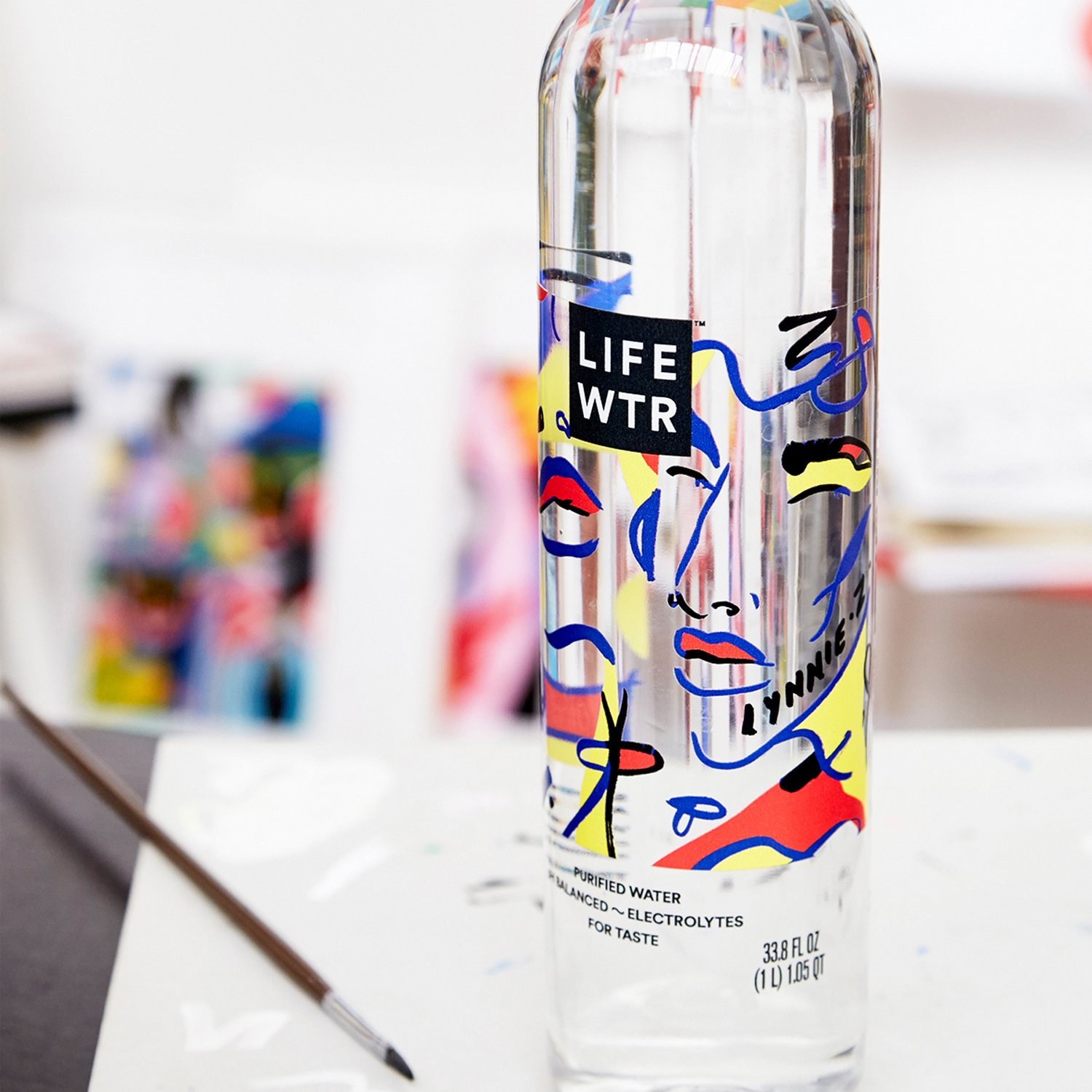 LIFEWTR Series 2: Women In Art Brand Packaging by PepsiCo Design and Innovation, adesignawards