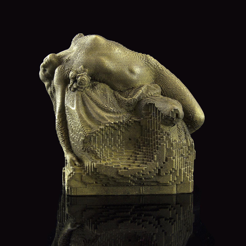 Facets 3D Print Art Piece by Nils Hansen