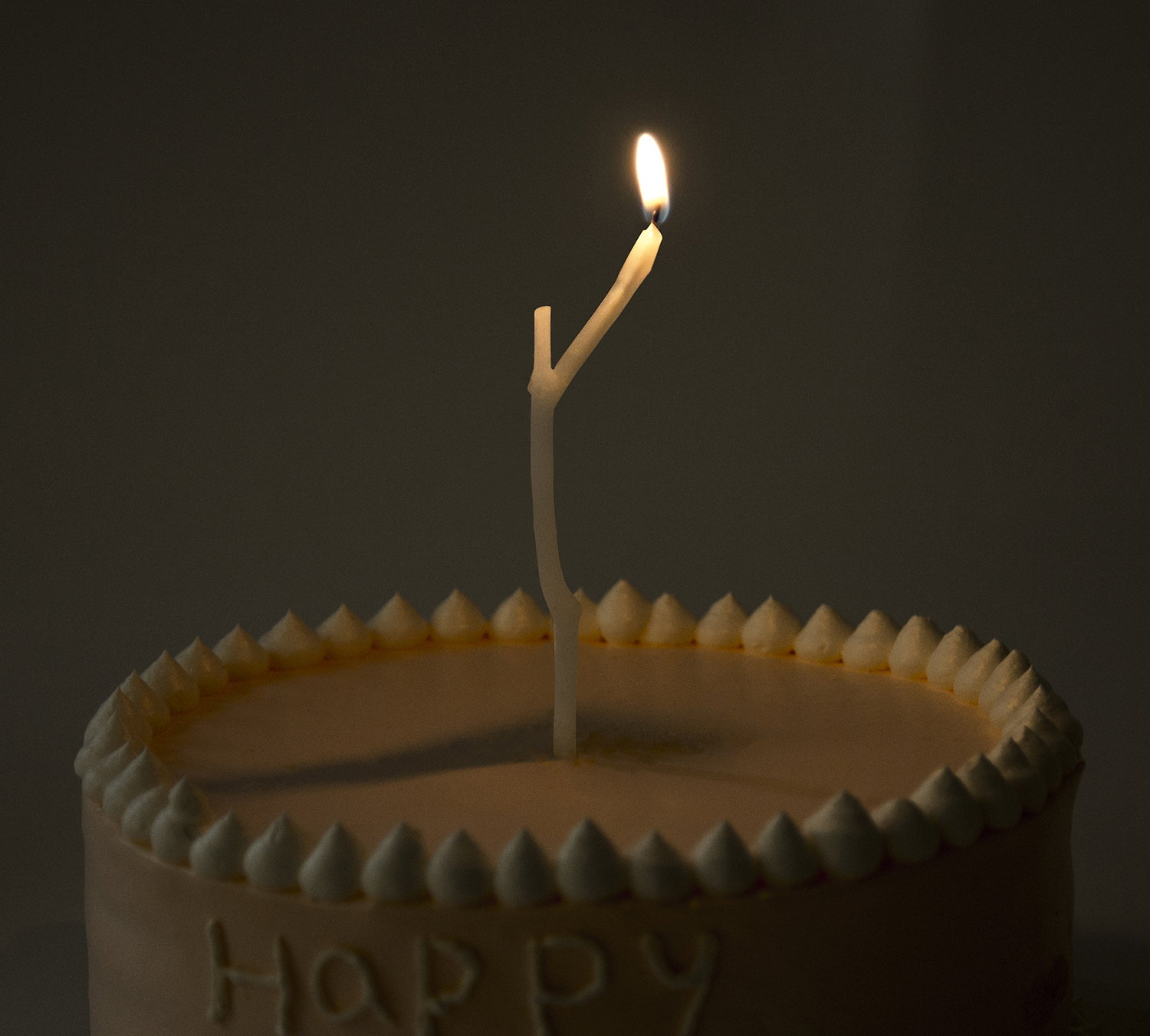Wish in the Wind Birthday Candle by Ling Ouyang