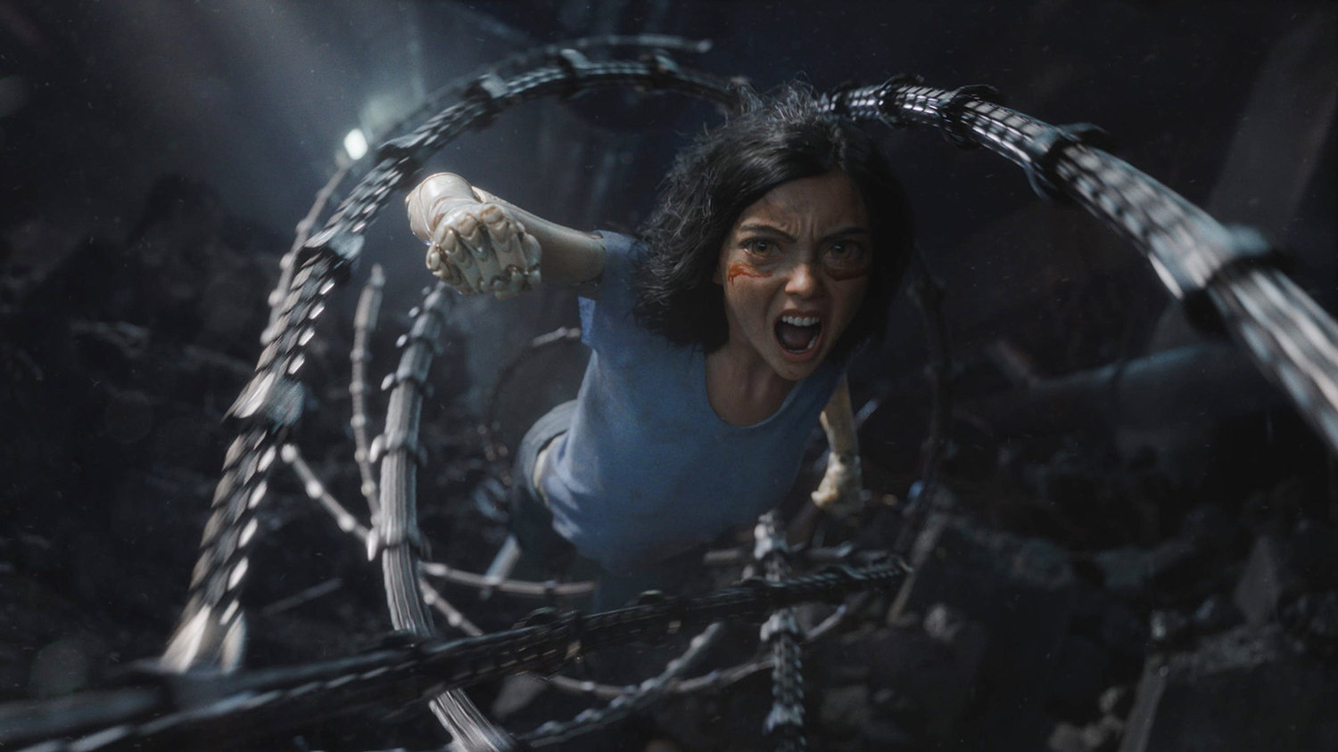 alita battle angel film still, best movie so far