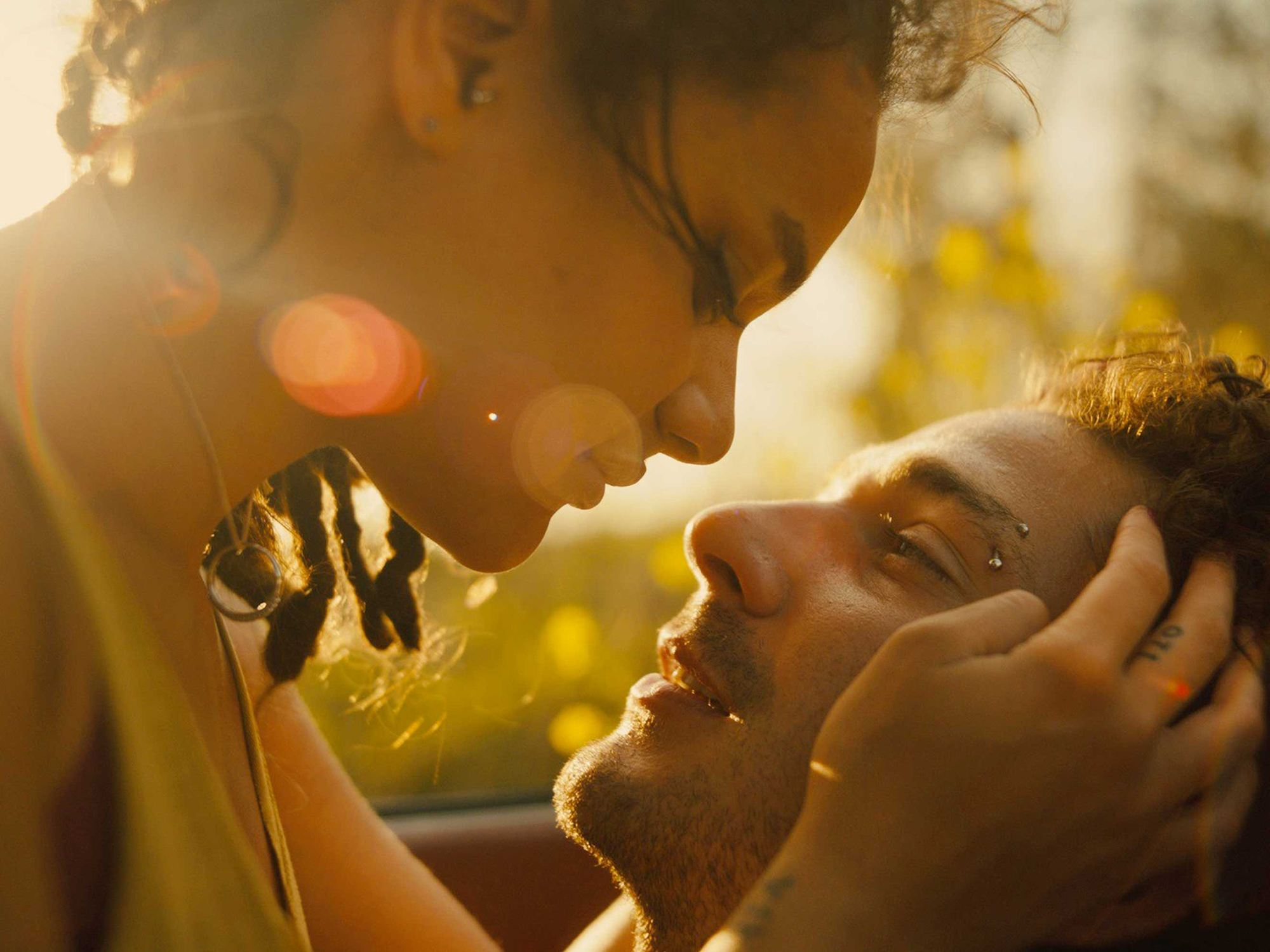 romance in american honey movie