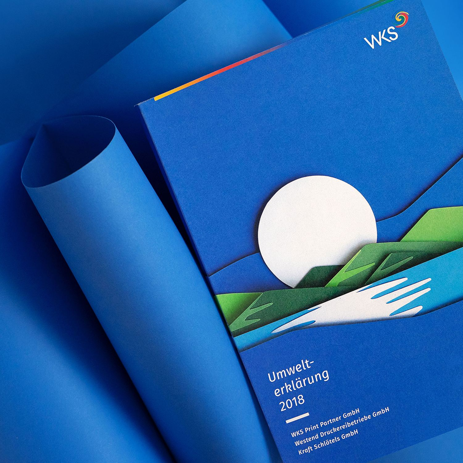 WKS Group by Creneo, paper, branding design