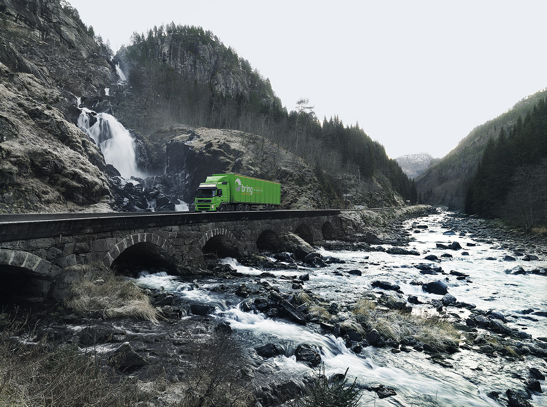 landscape photography, Posten Norge Visual Branding by Soren Nielsen