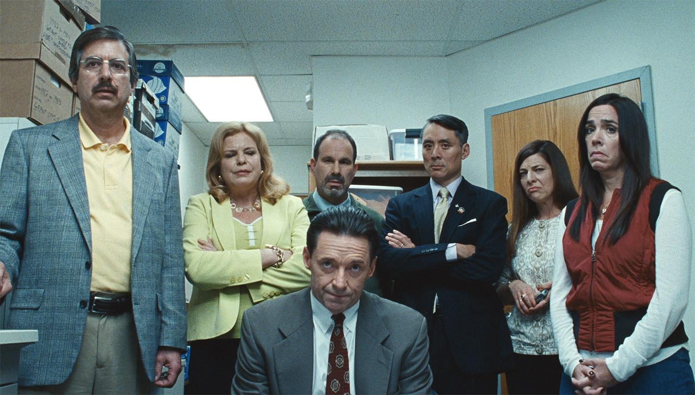 hugh jackman in Bad Education movie