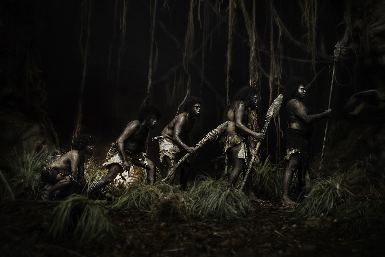 evolution of man, Jallikattu movie, tribe
