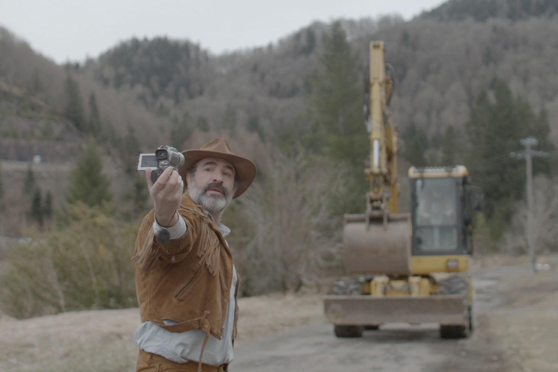 taking selfie, deerskin movie