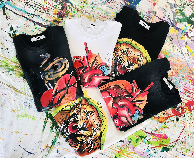 ITA Los Angeles , t-shirts