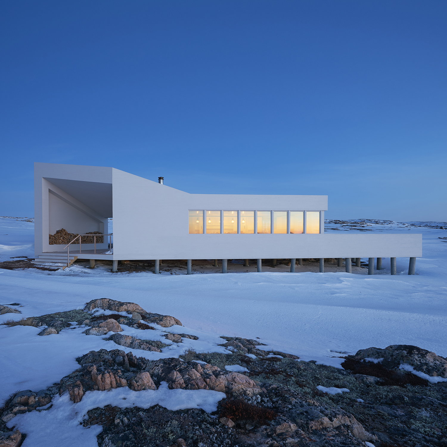 Fogo Island Shed Hotel Dining Room by Todd Saunders