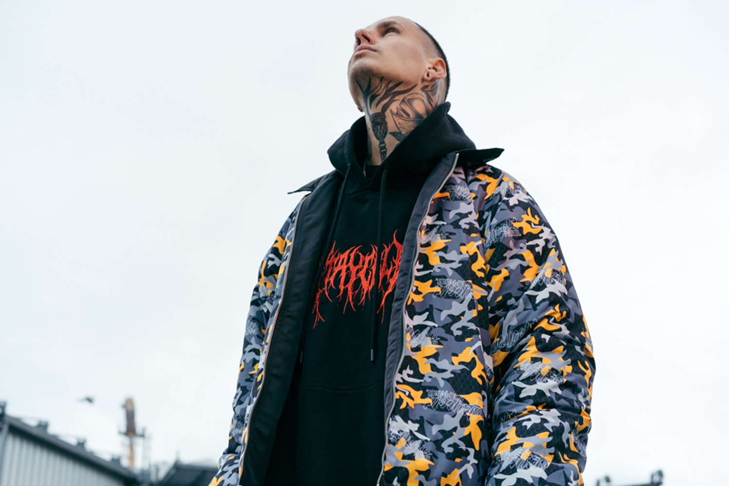 bomber jacket, stay cold apparel, tattoo fashion