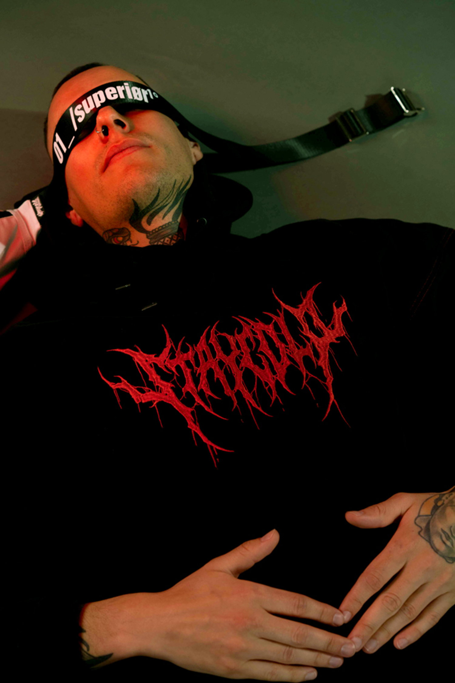 bloodshot hoody, superior clothing line