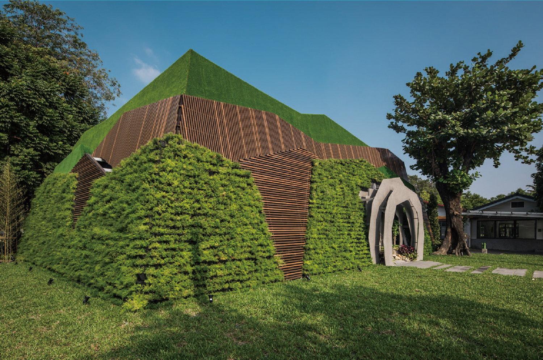 Leshan Sales Center Housing Sales Center par Wen Li Chang