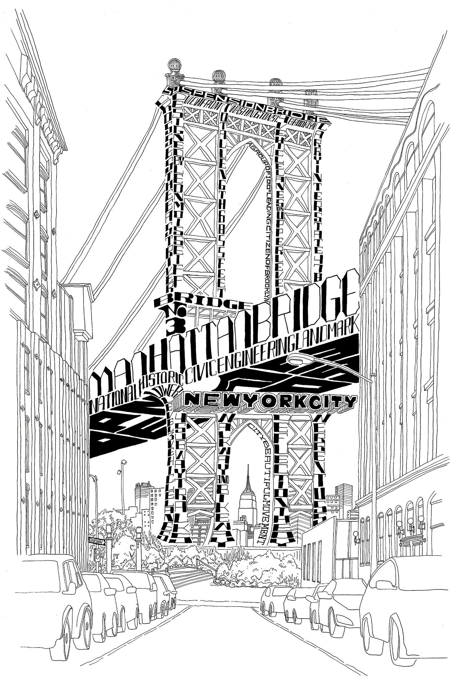 Architype New York affiche / impression par Qian Sun