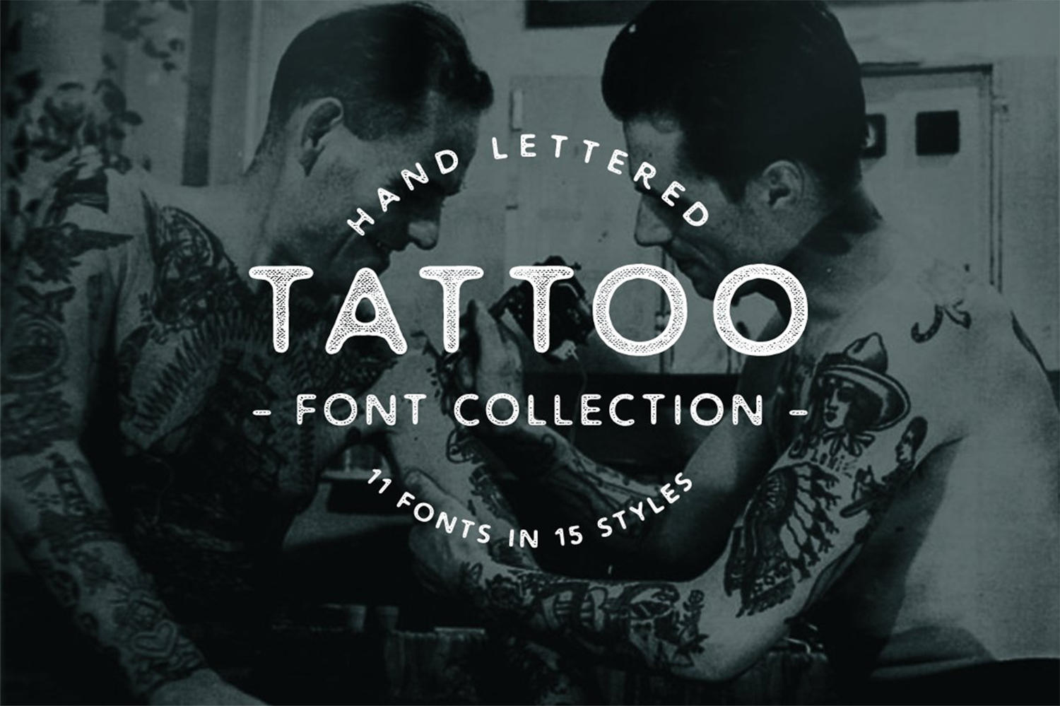 Tattoo Font Collection By Out of Step Font Company