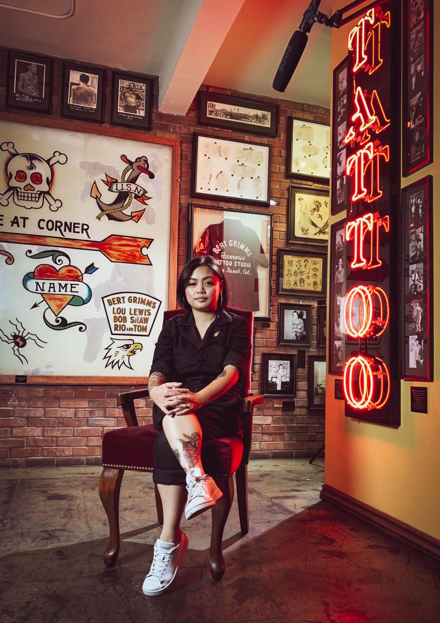 tattoo artist Jenny vo nguyen, outer limits tattoo studio