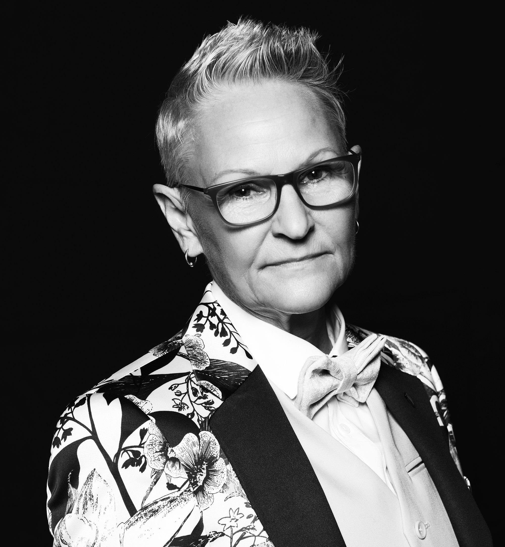Portrait of tattoo artist Kari Barba, photo by Greg Conraux