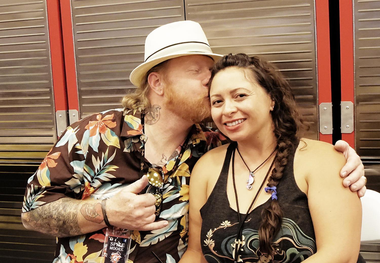 Spike Moore and wife Vandi, representing Working Class Tattoo Supply