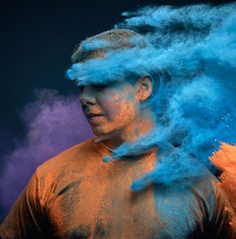 Throwing Colored Powders: The Ars Thanea Photo Shoot