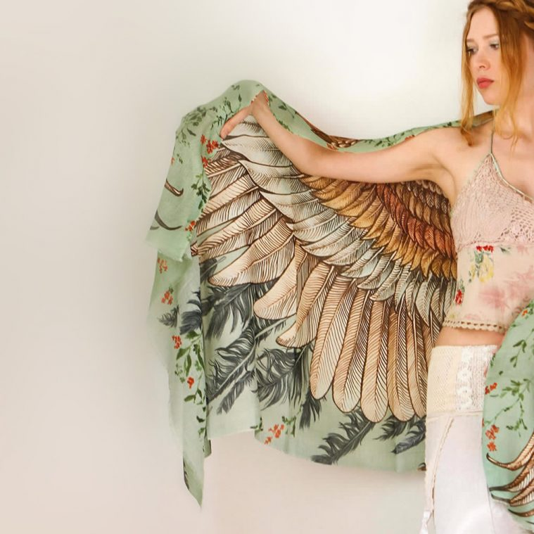 Become a Bird with this Fashion Accessory