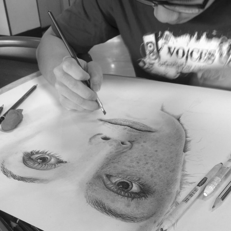 Chong-Yi's Pencil Portraits