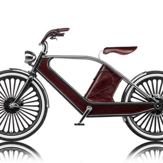 Stylish Electric Cycle