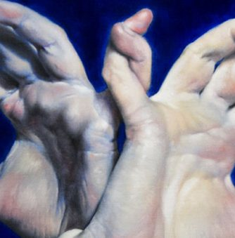 Painting: Leah's Hands