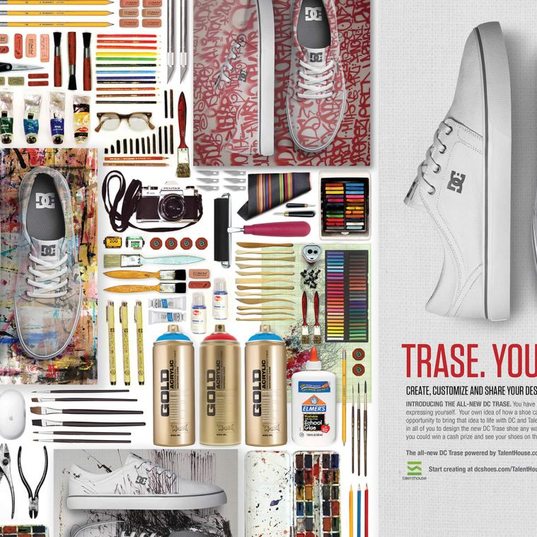 Design the Trase Shoe for DC Shoes