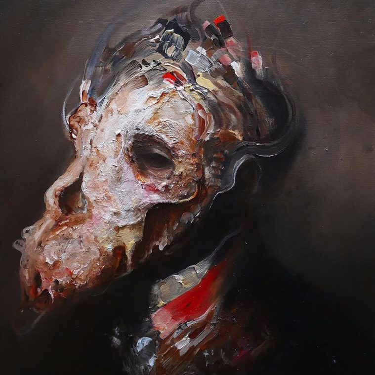 Stillness After Death: Contemplative Paintings by Eric Lacombe