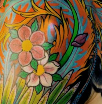 Colorful Sleeve Tats