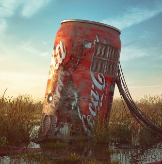 Pop Culture Dystopias: Digital Art by Filip Hodas