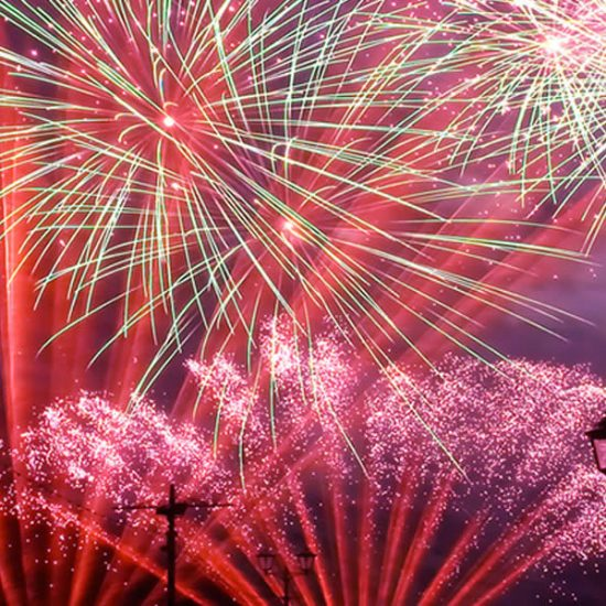 Five Spectacular Firework Photos