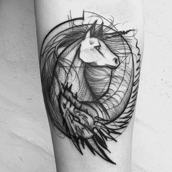 The Beauty in Chaos: Tattoos by Frank Carrilho