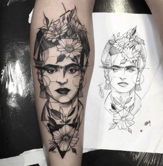Blackwork Tattoos by Brazilian Artist Fredão Oliveira