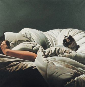 Gerard Schlosser's Intimate, Hyperrealistic Paintings of the Body