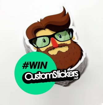 Giveaway: Win $300 Worth of Custom Stickers!