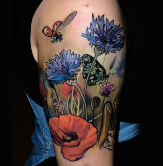 Tattoos with Moments of Splendor by Matyas Halasz