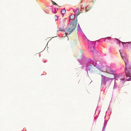 Delicate Rot: Animal Paintings and Drawings by Hannah Ward