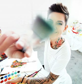 Living the Dream: Tattooist and World Traveler Ivana Belakova