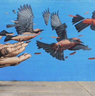 James Bullough's Fractured Paintings in Motion