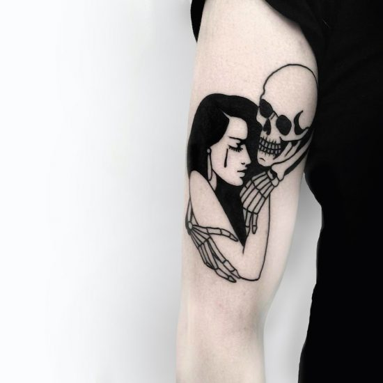 Dark and Dramatic Tattoos by Johnny Gloom