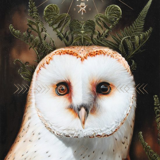 Cryptic Animal Paintings by Josie Morway