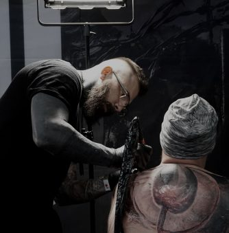 Darkness: The Tattoo Art of Kamil Mocet