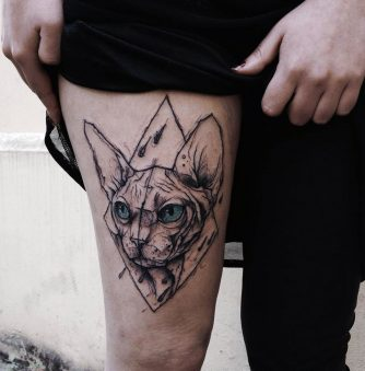 Kamil Mokot's Sketch-Style Tattoos