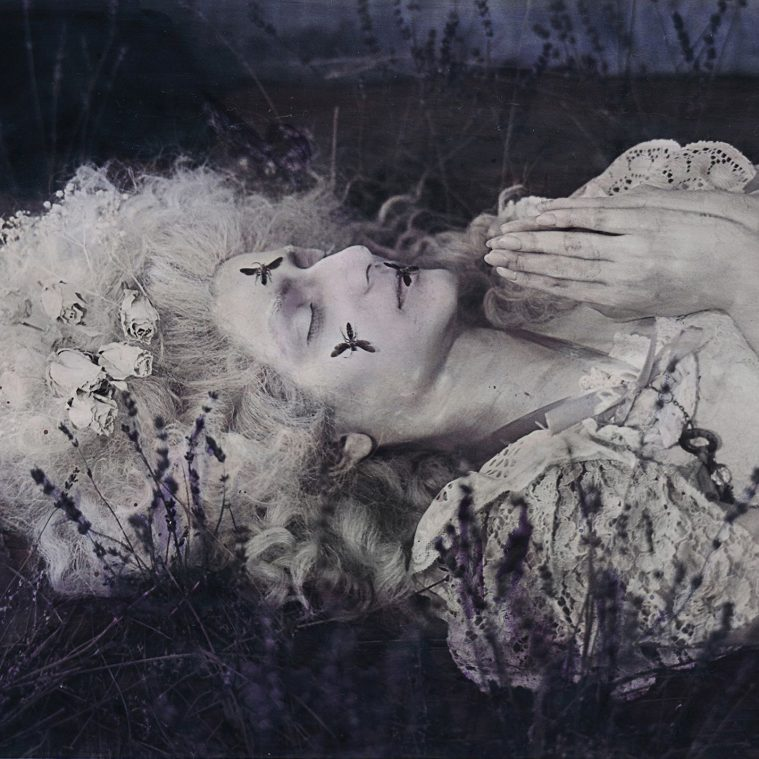 Gothic, Romantic Hand-Painted Photographs by Katie Eleanor