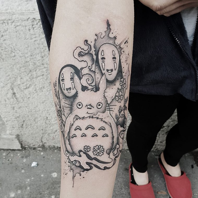 The Diverse Illustrative Tattoos of Kuro