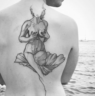 The Nude Tattoo Studies of L'oiseau
