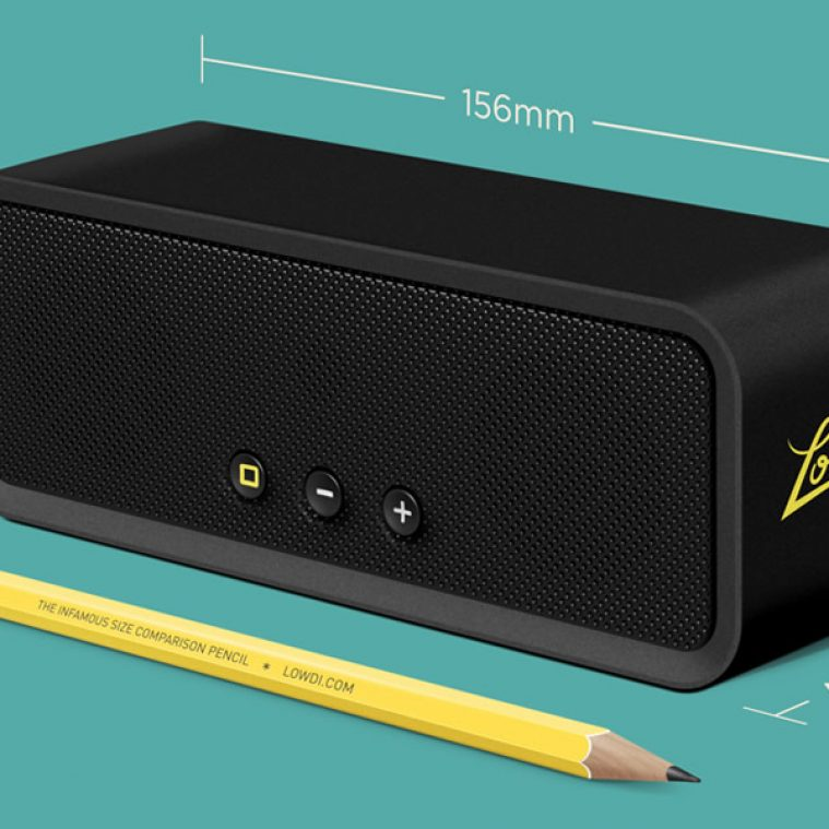Win a Lowdi Bluetooth Speaker