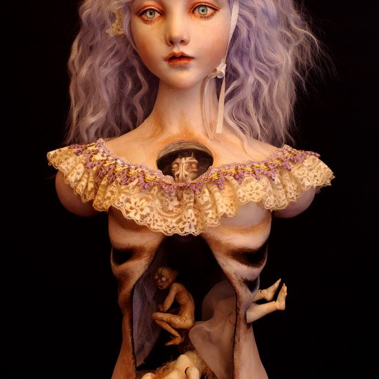 Hidden Hearts: Creepy Hollowed-Out Dolls by Mari Shimizu