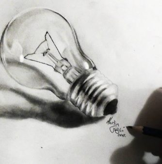 Pencil Art: Turn on the Light