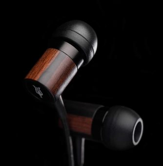 Win Meze Dark Wood Earphones